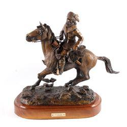 """Original G.C. Wentworth """"Mountain Man"""" Bronze"""