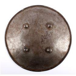 Antique Persian Etched Sipar Shield