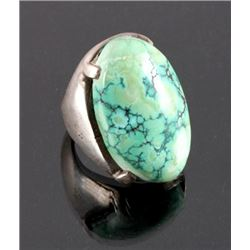 Navajo Sterling Silver and Turquoise Ring