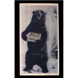 US Cartridges & Black Shells Bear Advertisement