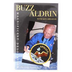 Signed Buzz Aldren Magnificent Desolation 1st Ed.