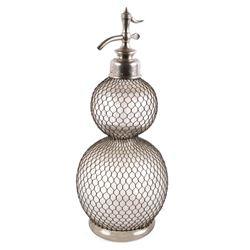 French Double Gourd - D Fevre Seltzer Bottle 19thC