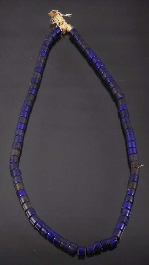 N West Native Russian Glass Trade Bead Necklace