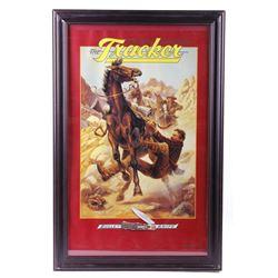 Remington Tracker Bullet Knife Advertising Poster