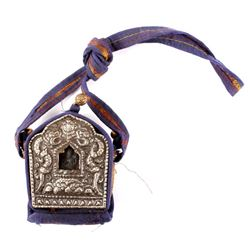 "Early Tibetan ""Gau"" or Prayer Box"