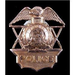 State Of Arkansas Police Hat Badge