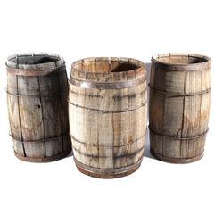 Montana Antique Wooden Liquor Ageing Barrels