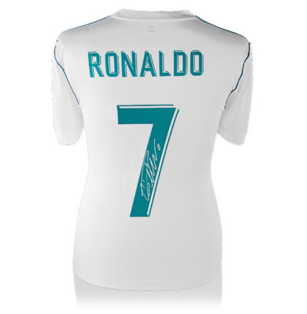 size 40 da265 1fc17 Cristiano Ronaldo Signed Real Madrid Jersey (Icons Sports ...