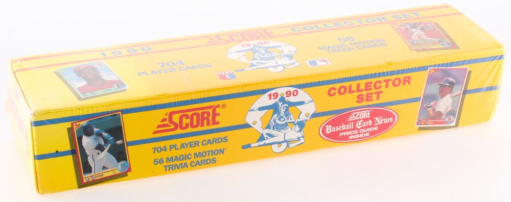 1990 Score Complete Set Of 704 Unopened Baseball Cards