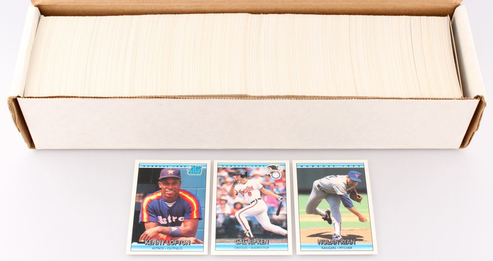 1992 Donruss Complete Set Of 784 Baseball Cards With 5