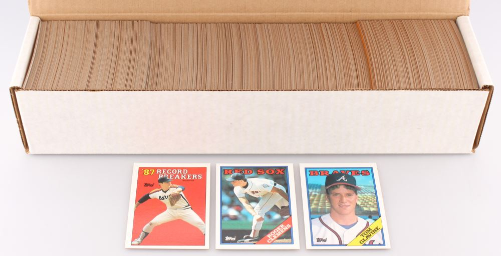1988 Topps Complete Set Of 797 Baseball Cards With 6 Nolan