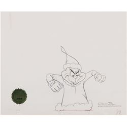 How The Grinch Stole Christmas Book Illustrations.Grinch Production Drawing From How The Grinch Stole Christmas