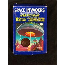 ATARI SPACE INVADERS GAME PROGRAM  (112 VIDEO GAMES) IN BOX