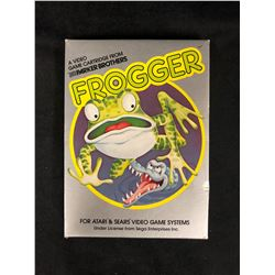 FROGGER VIDEO GAME (FOR ATARI & SEARS VIDEO GAME SYSTEMS)
