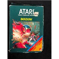 VINTAGE ATARI BERZERK VIDEO GAME (IN BOX)