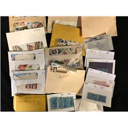VINTAGE U.S.A & CANADA CATALOGUED STAMP LOT