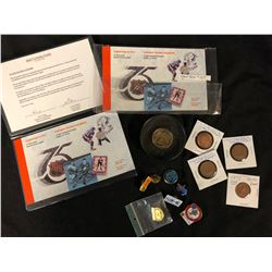 VARIOUS COINS & STAMPS LOT