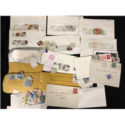 WORLDWIDE STAMP LOT (USED & UNUSED, SOME CATALOGUED)