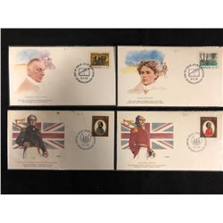 FIRST DAY COVERS LOT (CANADIAN)