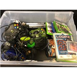 VIDEO GAMES & VIDEO GAME ACCESSORIES LOT