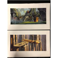"""STAR WARS LITHOGRAPH PRINTS (11"""" X 18"""") BY D. CHAING"""