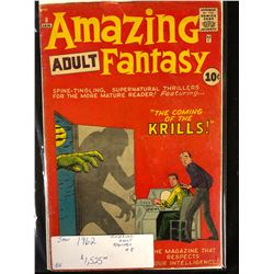 1962 AMAZING ADULT FANTASY #8
