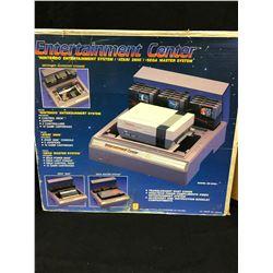 Entertainment Center for NES, Atari 2600, Sega Master System (IN ORIGINAL BOX)