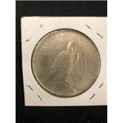 1923 SILVER PEACE ONE DOLLAR USA LIBERTY COIN