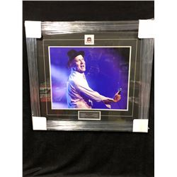 """GORD DOWNIE 20"""" X 24"""" FRAMED COLOR PHOTO (1964-2017 """"GONE...BUT NOT FORGOTTEN"""")"""
