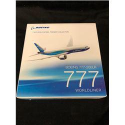 BOEING 1/400 SCALE MODEL PREMIER COLLECTION IN BOX (BOEING 777-200LR WORLDLINER)