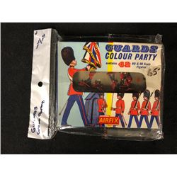 Vintage 1960s AIRFIX H0-00 Scale British Royal Colour Guards Party with Box