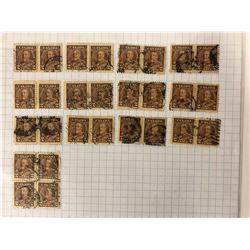 CANADIAN TWO CENT STAMP LOT