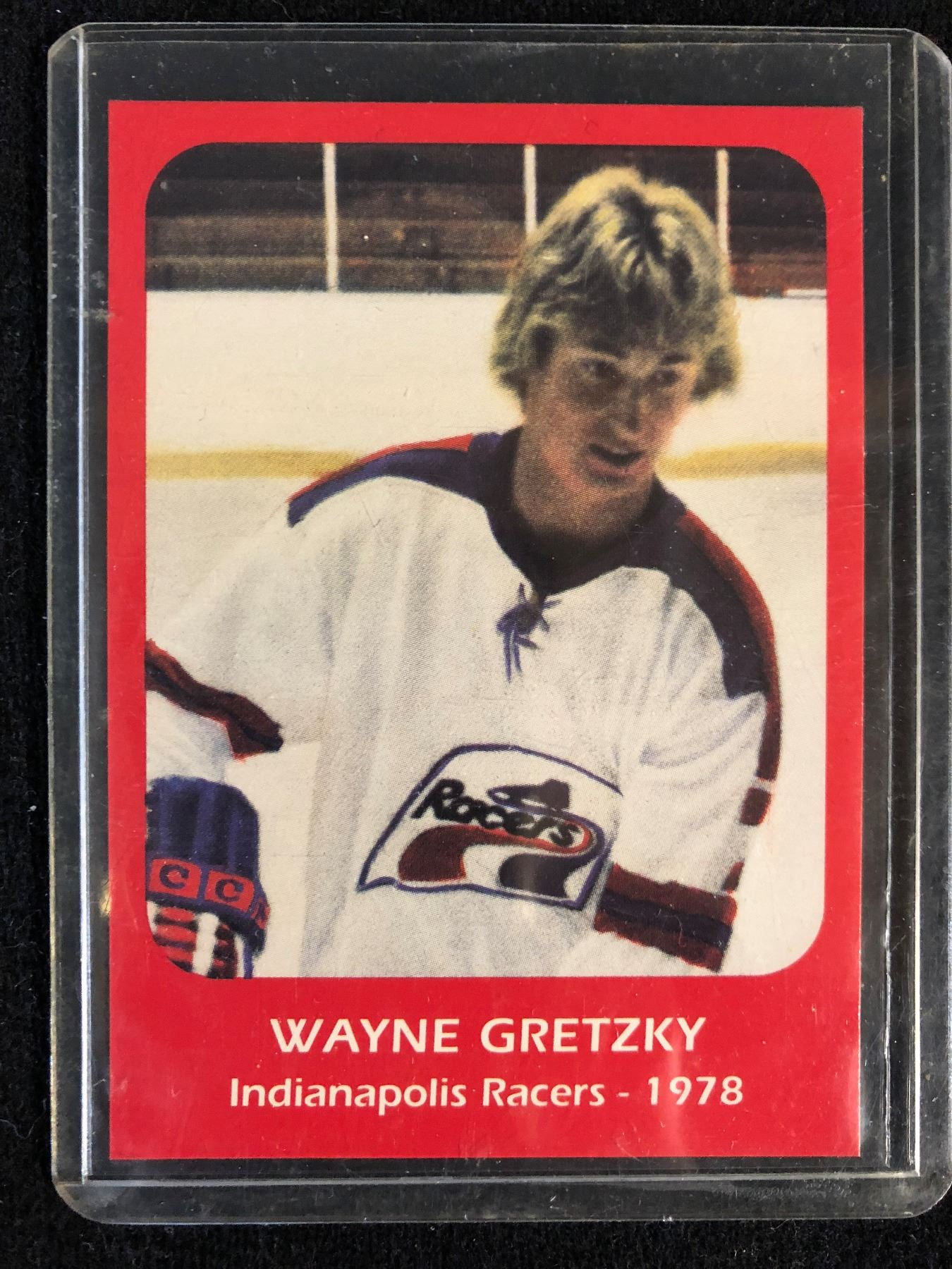 the best attitude 69c2b bc713 Wayne Gretzky 1978 Indianapolis Racers Rookie Card #1