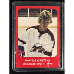 Wayne Gretzky 1978 Indianapolis Racers Rookie Card #1
