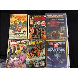 COMIC BOOK LOT (TOMAHAWK, STARDATE & MORE)