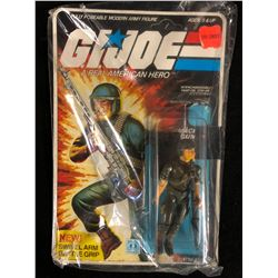 "G.I JOE ACTION FIGURE & ACCESSORIES ""MACHINE GUNNER"""