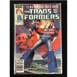 TRANSFORMERS #1 (MARVEL COMICS)