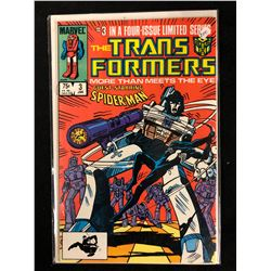 TRANSFORMERS #3 (MARVEL COMICS)