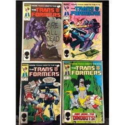 TRANSFORMERS #5-8 (MARVEL COMICS)