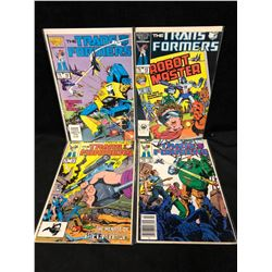 TRANSFORMERS #13-16 (MARVEL COMICS)
