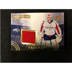 2015-16 Trilogy Tryptichs Game Used Jersey - Braden Holtby