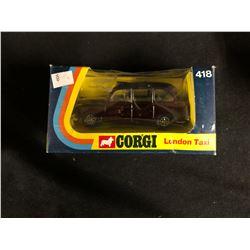 VINTAGE CORGI LONDON TAXI #418 (IN BOX)