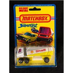 VINTAGE MATCHBOX SUPERFAST SHELL DIE-CAST METAL TOY TRUCK (NIB)
