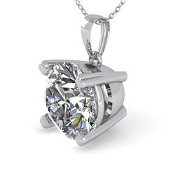 1.50 CTW VS/SI Diamond Designer Necklace 18K White Gold - REF-523M2H - 32358
