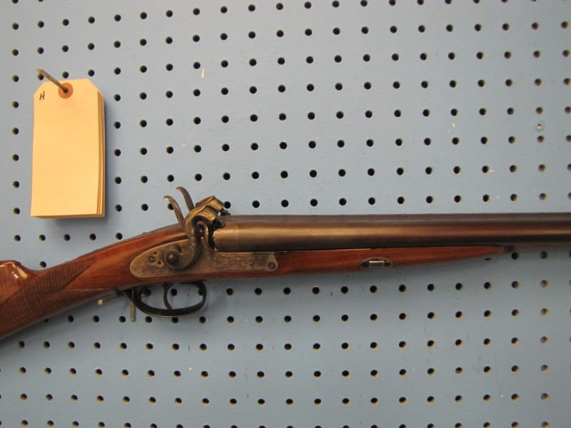 H*** Vitta Davide 12 gauge double barrel black powder muzzleloader made in  Italy