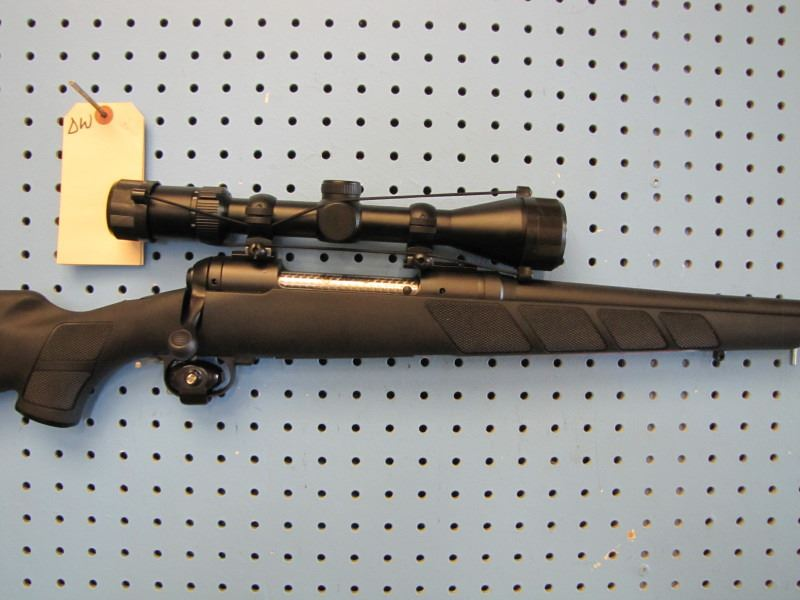 DW*** Savage Model 111 300 Win Mag bolt action clip synthetic stock Weaver  scope accutrigger Ducks