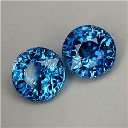 Natural Cambodian Rare Blue Zircon 5.35 Ct - VVS