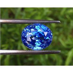 Natural Enchanting Blue Sapphire 6.65 Carats - GRS
