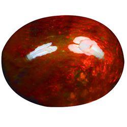 Natural Ethopian Black Opal 4.75 Carats