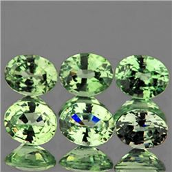 Natural Oval Green Sapphire -VVS